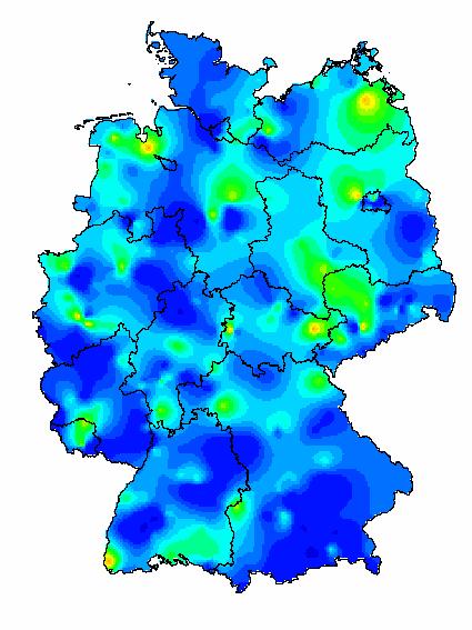 grippe karte RKI (Arbeitsgemeinschaft Influenza): Kartenarchiv